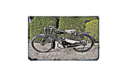 Gazelle motorfiets A3 teken aluminium metalen Retro fiets