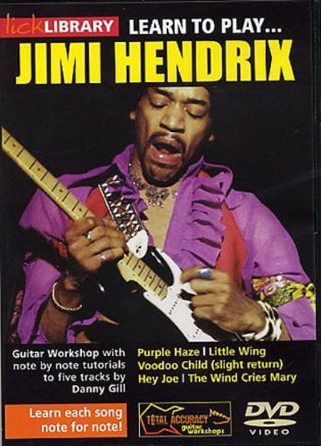 Learn To Play Jimi Hendrix [UK Import]