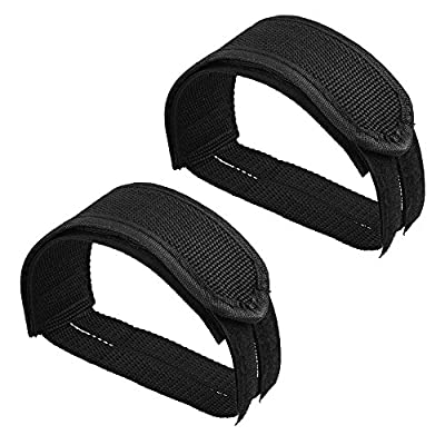 CM Cosmos 1 Pair Black Bicycle Bike Pedal Straps Fixed Gear Bike