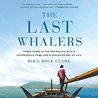 The Last Whalers audiobook cover art