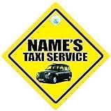 Taxi Service Auto Schild,Auto Schild,TAXI-SCHILD,Taxi Auto Schild,PERSONALISIERT Taxi-Schild,Benutzerdefinierte Taxischild,ERSTELLEN SIE IHR EIGENES personalisiert Taxi-Schild,Baby on Board Zeichen,