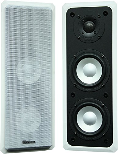 Best Buy! Axiom M22 in-Wall Speakers - Stereo Wall Mounted Virtually Invisible (Pair)