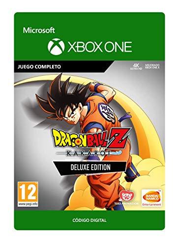 DRAGON BALL Z: KAKAROT Deluxe Edition   Xbox One - Código de descarga