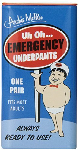 Archie McPhee - Emergency Underpants Novelty Gift