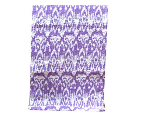DN Handicraft Funda de cama hecha a mano Hanmade ekat kantha, color morado claro reversible tamaño Queen Kantha