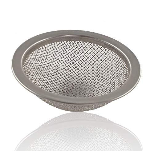 ROFOR Shisha Kopf Sieb 6x6x2 | Vereinfacht Reinigung | Spart Steine | Nie Wieder Steine im Kopf | KS Appo | Shishakopf | Steinkopf | 6cm außen | 5cm innen | 2cm Höhe