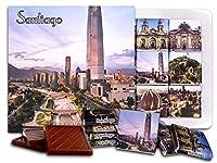 """DA CHOCOLATE キャンディ スーベニア """"サンティアゴ"""" SANTIAGO チョコレートセット 5×5一箱 (Skyscraper)"""