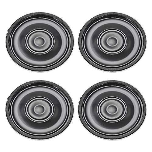 Yootop 29mm Loudspeaker for DIY Audio Project 0.25W 8 Ohm 10 Pcs