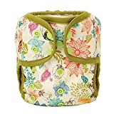 One Size Cloth Diaper Cover Snap with Double Gusset...