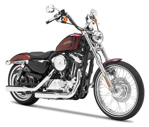Harley Davidson Modell, 2012 XL 1200V Sevety-Two (31), Maisto Motorrad 1:18