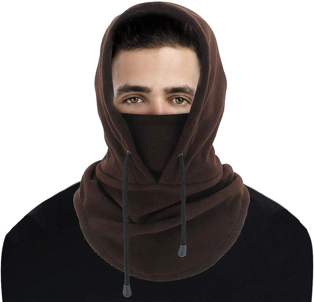 HebeTop Warm Fleece Balaclava Ski Bike Time sale Financial sales sale Mask Full Neck Warme Face