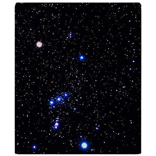 Duang Throw Blanket Constelación De Orión con Halo Eff Soft Fleece Blanket Throw Blanket Warm Stadium Blanket 102X127Cm