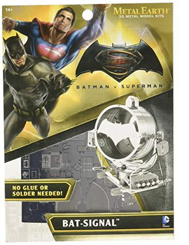 fascinations- Metal Earth - Maqueta metálica Batseñal (Batman VS Superman)