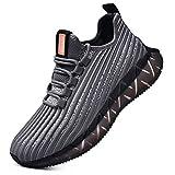 SANNAX Hombre Zapatos para Correr Zapatillas de Deporte de Moda Casual Sneakers Calzado Deportivo Zapatos Transpirables para Gimnasio Caminar Trotar