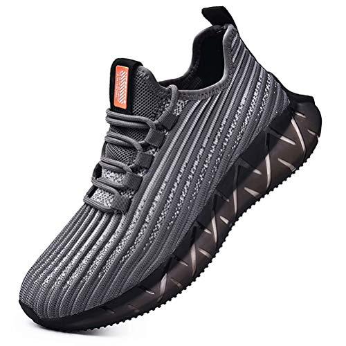 SANNAX Herren Sneaker Joggingschuhe Laufschuhe Turnschuhe Atmungsaktiv Leichte Modisch Fitness Sportschuhe Outdoor für Herren