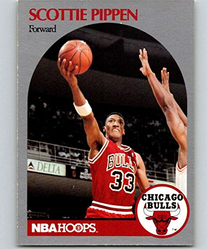Basketball NBA 1990-91 Hoops #69 Scottie Pippen #69 NM Bulls