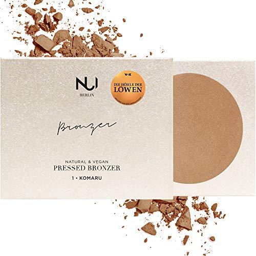 NUI Cosmetics Natural Pressed Bronzer KOMARU - Naturkosmetik vegan natürlich glutenfrei - Bronzer Puder für gebräunten Teint