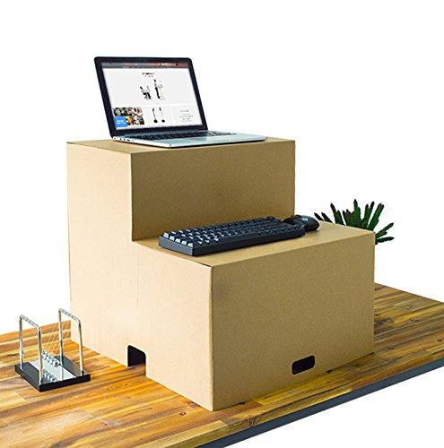 Paper Maker Pappe tragbar Stehtisch für Laptop Büro