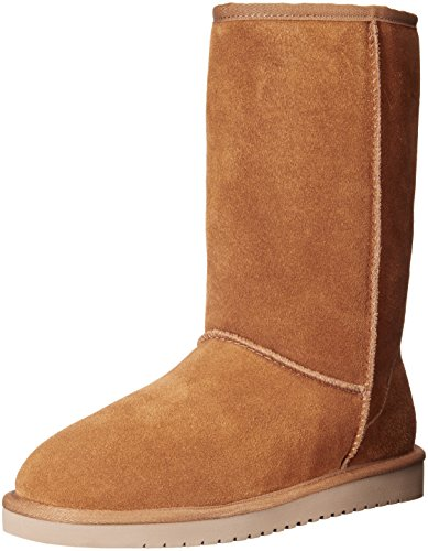 Koolaburra by UGG Women's Koola Tall Classic Boot, Chestnut, 38 EU