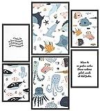 Papierschmiede® Kids Mood-Poster Set Einfach Schwimmen |