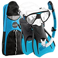 Phantom Aquatics Speed Sports Signature Mask-Fin Snorkel Set