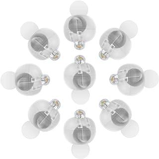 عام 100 قطعة مصباح ليد صغير بالون كرات ضوئية مستديرة، مصباح ليد صغير للحفلات بالون ورق فانوس بيض عيد ميلاد حفلة زفاف ديكور