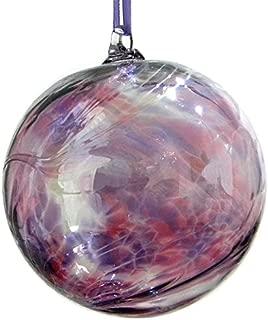 February Amethyst 10cm Birthstone Glass Ball
