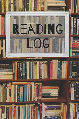 Reading Log: Review Books, Reading Journal, Reading Log, Book Review Logbook, Book Club Journal, For Book Lovers.