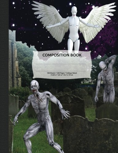Zombie Apocalypse Composition Notebook, College Ruled: Lined Student Exercise Book