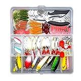 JZK 106 x señuelos de pesca kit de pesca suave jigs metal señuelos...