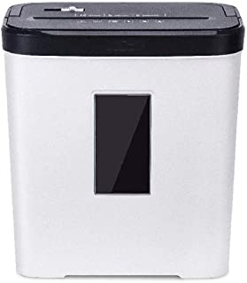 ACQUIRE White Shredder- Cross-Cut Paper,CD,Credit Card Shredder with Wastebasket and Window