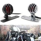 Motorrad 12V Rückleuchten Rücklicht Bremslicht Kennzeichenbeleuchtung Universal Für Harley...