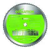 Evolution FURY - Lama circolare multiuso, 355 mm