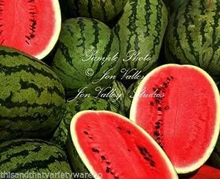 Charleston Gray Watermelon Seeds Heirloom Non GMO Sweet Juicy Red Good Producer 75 Seeds