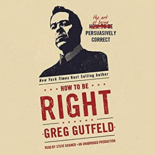 How to Be Right audiobook cover art