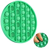 Tanku Toys Empujar La Burbuja Juguete Sensorial Inquieto | Autismo Necesidades Especiales Alivio del Estrés Juguetes para Aliviar la Ansiedad, Juguete de Escritorio (Circulo Verde)