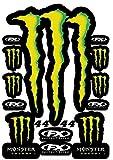 Kit Pegatinas Pegatinas Monster Sponsor Motocicleta Compatible para KTM Honda Yamaha KTM Cross Enduro Helmet (44)