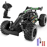 CEGOUFUN Remote Control Car High Speed RC Cars 1:18 Scale 2.4Ghz Off Road Buggy Racing Vehicle, Electric Drift Toy Trucks with Rechargeable Battery, Toys Gifts for Kids Boys Girls