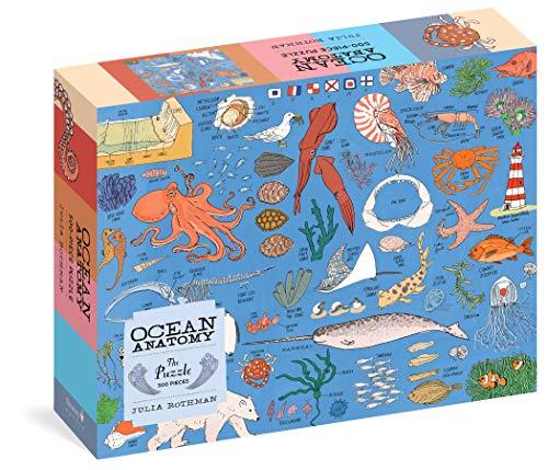 Ocean Anatomy: 500-piece Puzzle