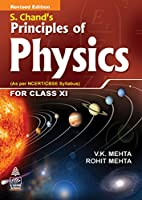 S. Chand's Principles of Physics for Class XI 8121919347 Book Cover