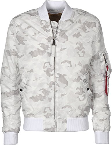 Alpha Industries Herren Winterjacken MA-1 TT weiß XL