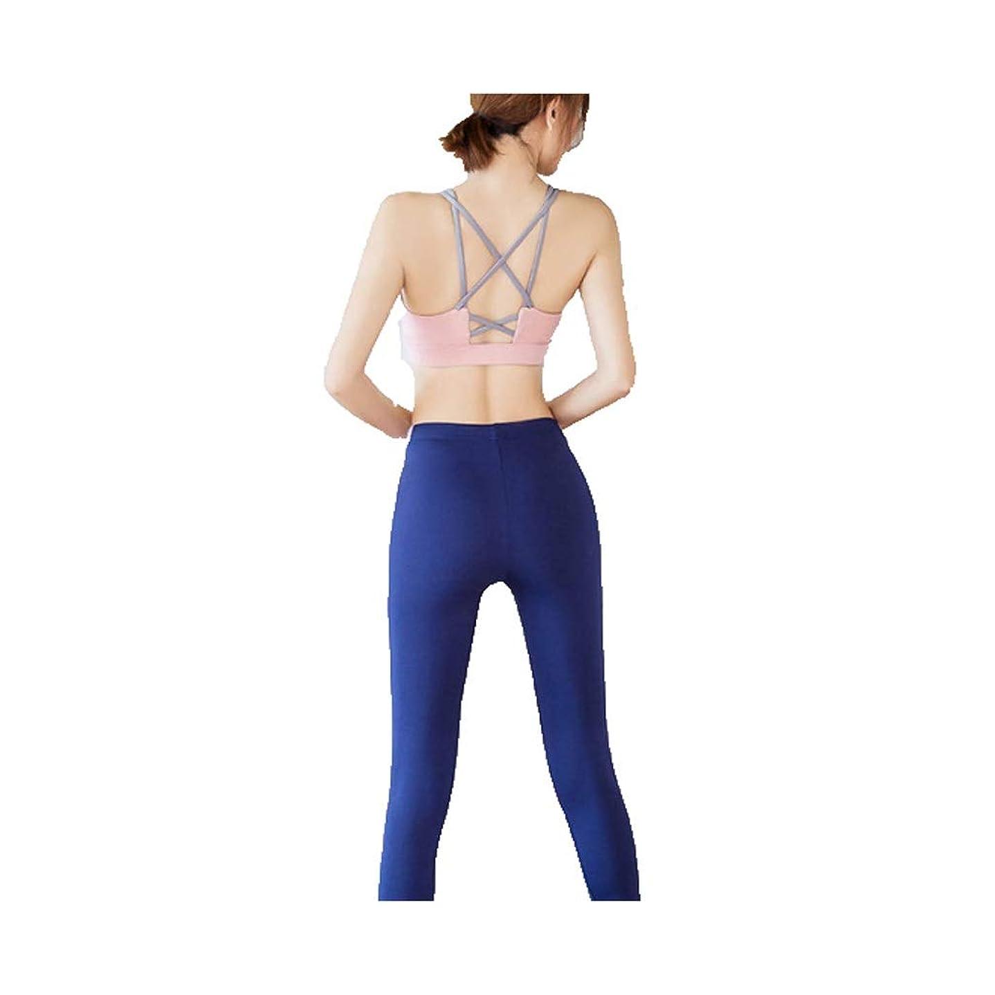 現代かび臭い埋める女性のスポーツスーツヨガのエクササイズ服スポーツ速乾性の服スポーツ下着フィットネスパンツツーピース (Color : 1, Size : S)