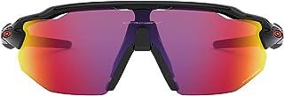 Oakley Men's OO9442-0138 Sunglasses, Pink (Polished Black), 38