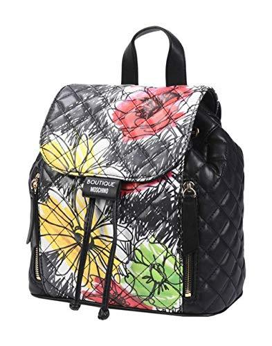 MOSCHINO BOUTIQUE Zaino Damen Women Beuteltasche Rucksack Backpack Schwarz