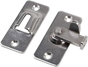 90 graden Hasp Klinken RVS schuifdeur Chain Locks Security Tools Hardware Window Thuis