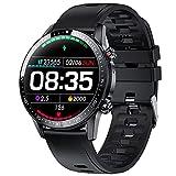 Smartwatch Uomo Donna,Phipuds Orologio Fitness Impermeabile IP67, Chiamata Bluetooth, Cardiofrequenzimetro da Polso, Activity Tracker Sportivi Contapassi Controllo Musica Cronometro per Android iOS