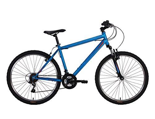 Tiger Fury Mens Hardtail Mountain Bike MTB Blue 26' Wheels 18 Speed (14')