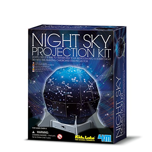 Great Gizmos- Night Sky Projection Kit Ciencia 4M