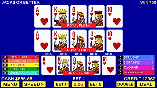 『Multi Video Poker - Multi Hand Casino Games FREE』の1枚目の画像