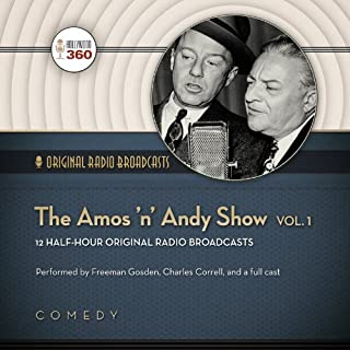 The Amos 'n' Andy Show, Vol. 1 audiobook cover art